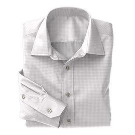 Pink Twill Check Shirt:N3-3340119
