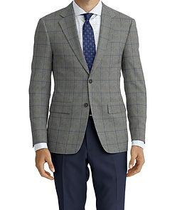 Ice Grey Blue Window Jacket:Y6-4185342  Lining:L2-3540425  Trouser:Z2-3336930  Shirt:N6-4071977