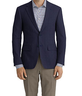 Dormeuil Calypso Navy Texture Jacket:Y6-4073666  Lining:L4-4072735  Trouser:Z2-3336924  Shirt:N6-4072011