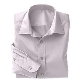 Violet Twill Solid Shirt:N3-3340156
