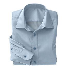 Sky Blue Dobby Solid Shirt:N3-3340132