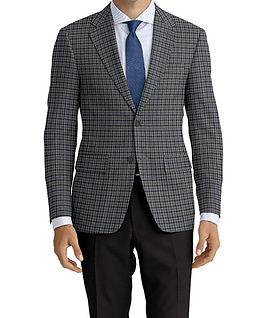 Grey Blue Check Jacket:K4-4073377 Trouser:Z2-4186915  Shirt:N4-3862519