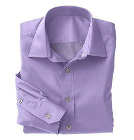 Lavender Micro Houndstooth Shirt:N5-4074741