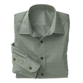 Olive Chambray Shirt:N3-3753509