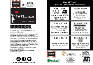 ART with Heart day every 3rd Saturday