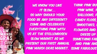 Pink Mardi Gras Spring Market Day