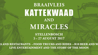 Braaivleis, kattekwaad and Miracles- The Circus has come to Town!
