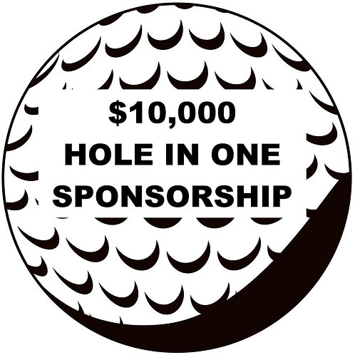 $10,000 Hole In One Contest Sponsor