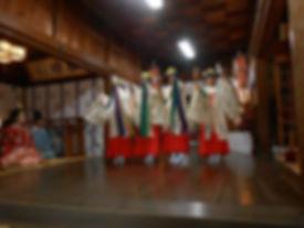 2017年6月4日 水橋中町 日枝神社 春季祭礼 神事と巫女舞