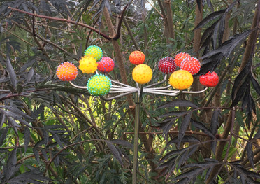 PomPom Allium red