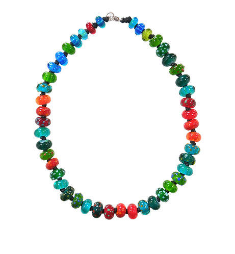 very berry necklace, summer fruits