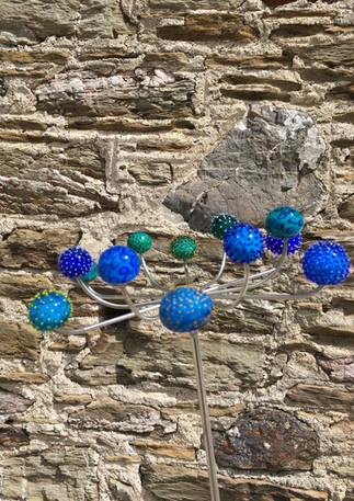 PomPom Allium blue