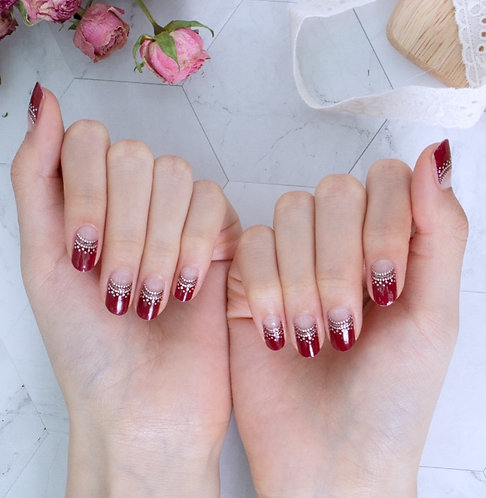 45183. Glamorous French Red