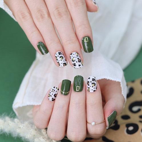 45696. Leopard Eden Green
