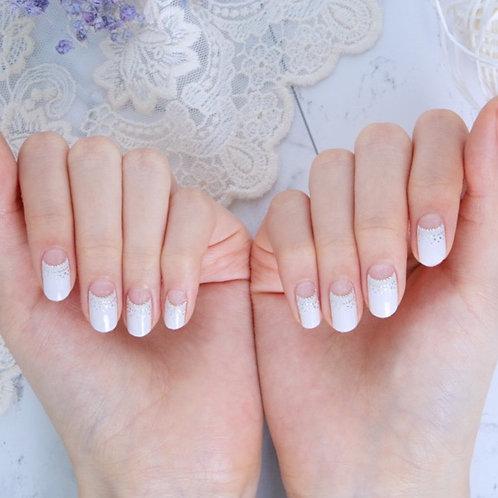 45065. Glamorous French White
