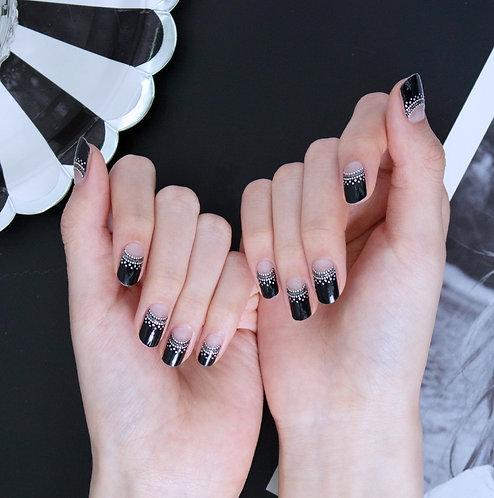 45066. Glamorous French Black