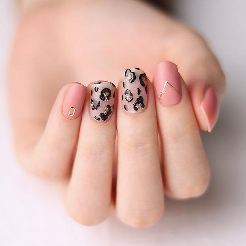 45734. Pink Leopard, Matt