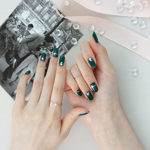 45416. Jade Couple Ring