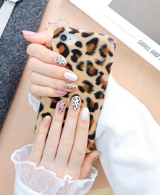 45462. Leopard Warm Pink