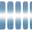 Thumbnail: 45120. Glitter Blue Silver Gradation