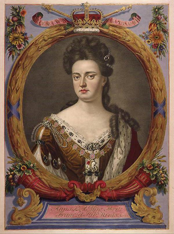 Anna Stuart, Königin von England und Schottland (1702–1707) und von Großbritannien (1707–1714)