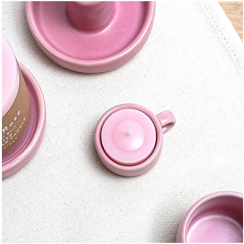 Fika Pink Tealight Holder