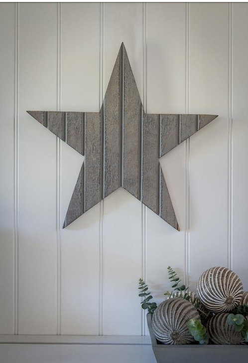 Tongue and Groove Grey Star