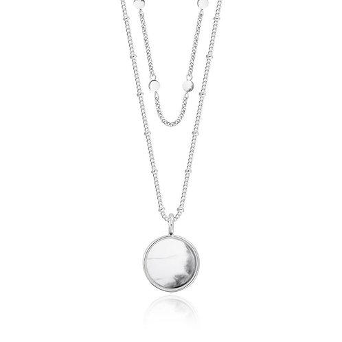 Joma Jewellery Signature stones Howlite Necklace