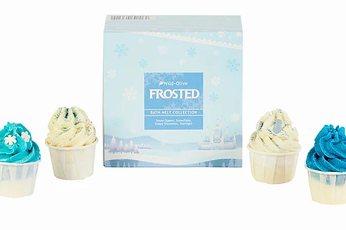 Wild Olive Frosted Bath Melts Collection