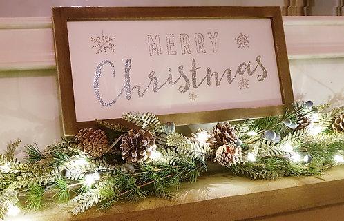 Rustic Christmas Framed Art