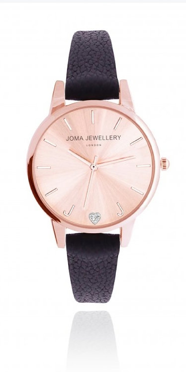 Joma Jewellery Lexi Watch Rose Gold