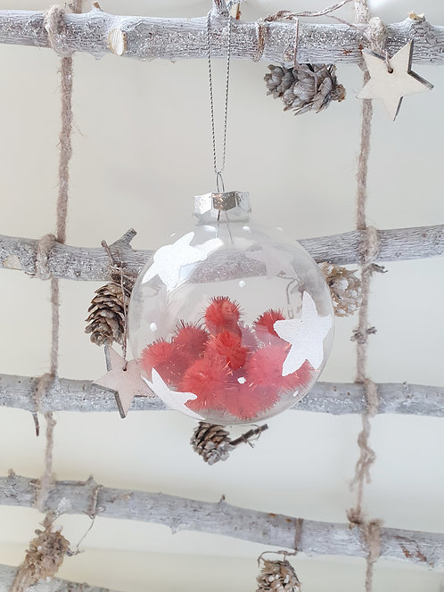 Star Glass Bauble