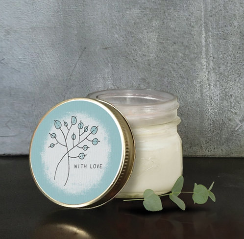 Hedgerow Soy Candle Various Sentiments