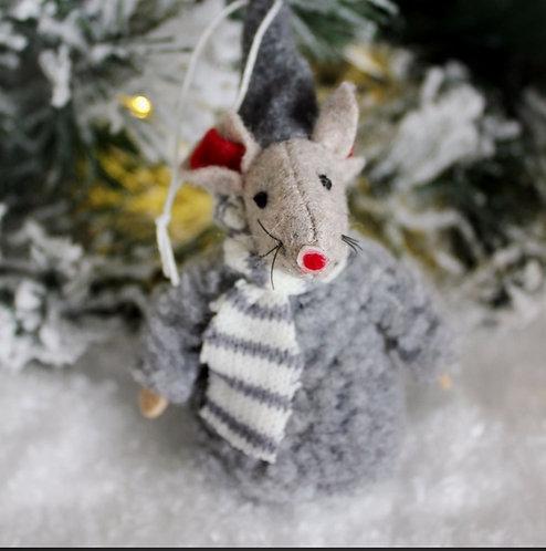 Henrietta Grey Fluff Mouse