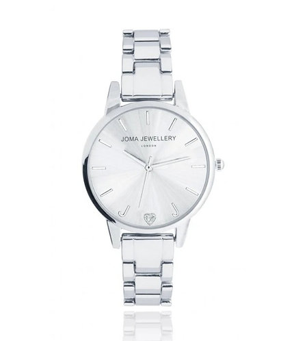 Joma Jewellery Piper Watch Silver