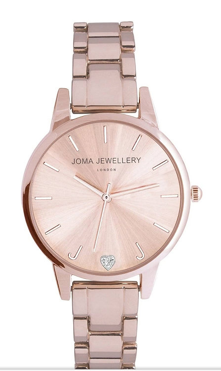 Joma Jewellery Piper Rose Gold Watch