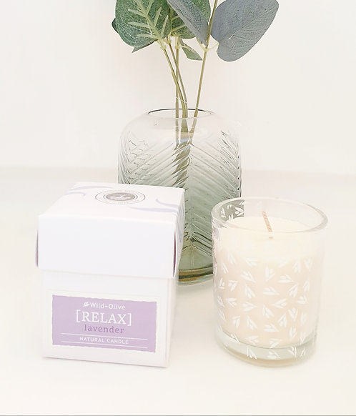Wild Olive Wellbeing Candle- Relax