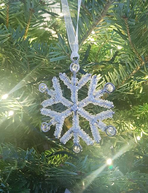 Beaded Snowflake Assorted