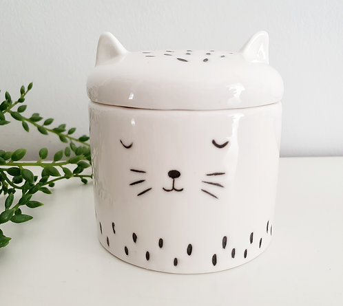 Cool Cat Trinket Box