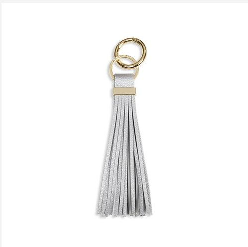Katie Loxton Lora Tassel Keyring Silver
