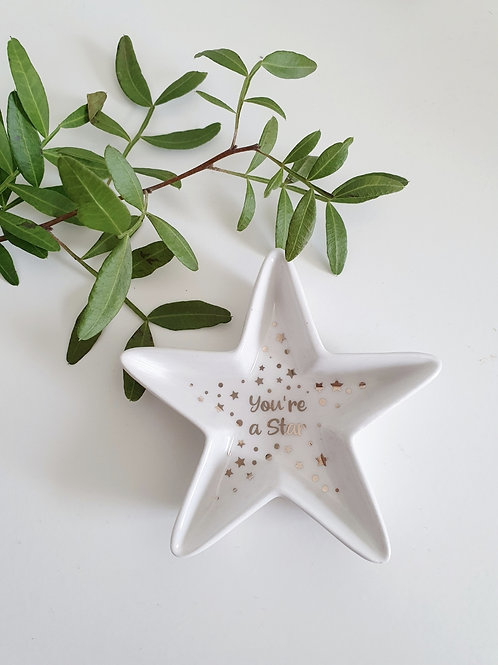 Star Trinket Dish Assorted