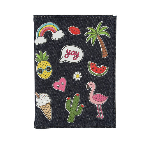 Sass & Belle Patches and Pins Passport Cover