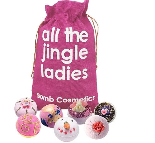 Bomb Cosmetics All The Jingle Ladies Bath Blaster Gift Pack