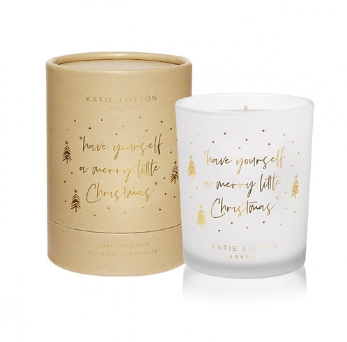 Katie Loxton Christmas Soy Boxed Candle