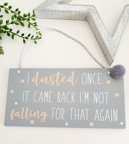 Hanging Wooden Wall Plaque