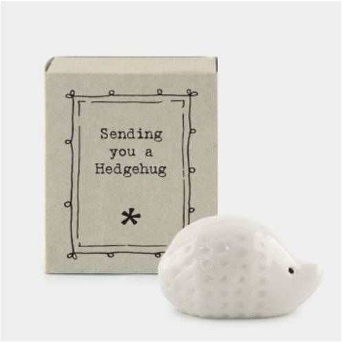 East of India Matchbox Hedgehog