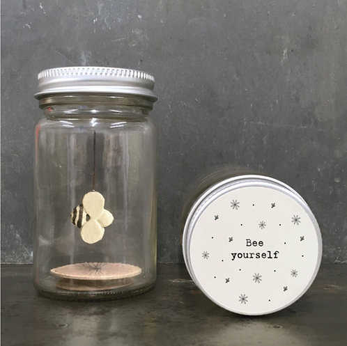 World in a jar - Bee Yourself