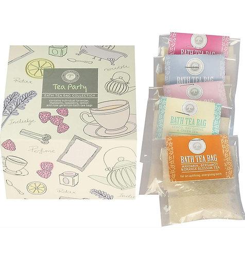 Tea Party Bath Tea Bags by Wild Olive