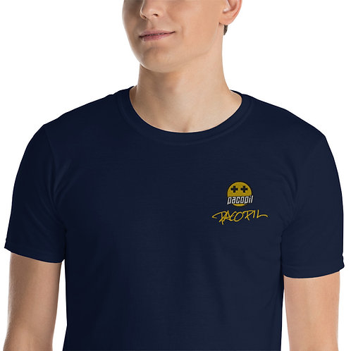 Bordado con firma original -Sleeve Unisex T-Shirt