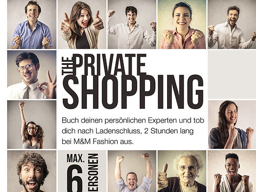 Gutschein Private Shopping 599 Euro